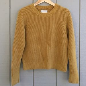 Banana Republic Mustard Sweater - Heritage Collect